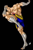 Sagat by Osmar-Shotgun
