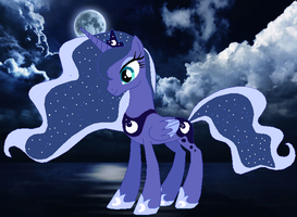 ~Princess of the Night~ by Meadow-Leaf