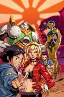 BIG HERO 6 Collected Ed. Cover by DNA-1