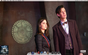 Doctor Who Mac Desktop 2013-03-26 by rissfairy