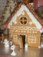 Gingerbread House (8) by jess13795