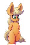 Daily Apple: Semi-anthro by Heir-of-Rick