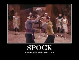 Beating Kirk's Ass... by SpockHorror