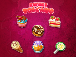 Items for game Sweet Volcano by Pykodelbi