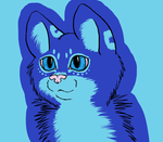 Lazy color of teh Kitteh Lineart by catlover1672