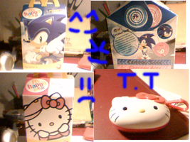 Happy Meal Sonic X by Joellinathedog