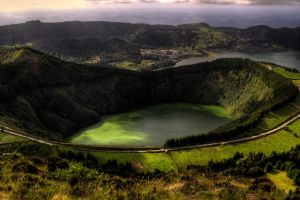 Lagoa sete cidades by fkefctry