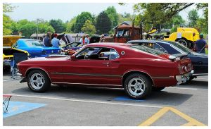 A 1969 Mach 1 Mustang by TheMan268