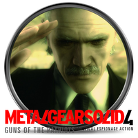 Metal Gear Solid 4 by Solobrus22