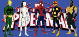 Spider-man and his Ultimate Friends by JMP2020