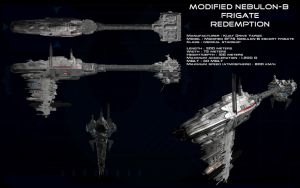 Modified Nebulon-B [Medical] Frigate ortho by unusualsuspex