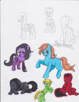 My Little Pony Anatomy Practice by Sasuke419