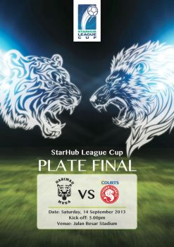 Starhub League Cup Poster by GraphIcatZ