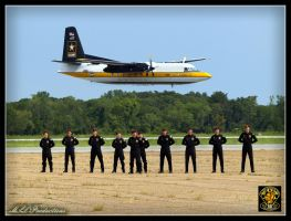 U.S. Army Golden Knights by Dracoart