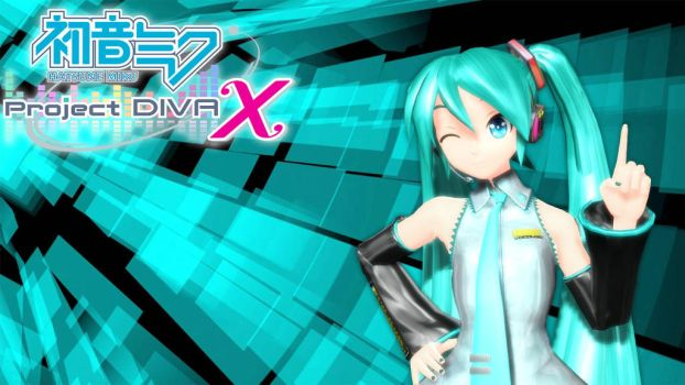 Project Diva X MMD by TErrarIanXD