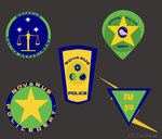 Collection of Badges 1 by Fox-The-Wandering