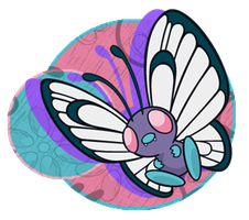 Butterfree Logo by Okami-Norino