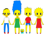 Os Simpsons by CamiloSama