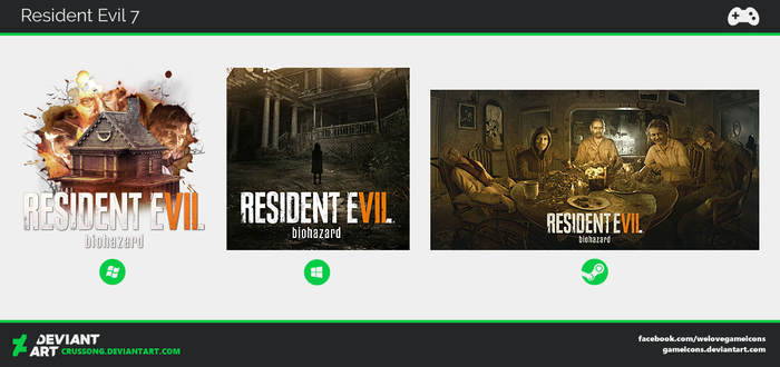 Resident Evil 7 - Icon by Crussong