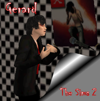 Sims 2 Gerard Way by irish-blessing