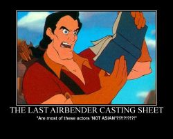 Gaston Reads Casting Sheet by LivingShadowDarkMark
