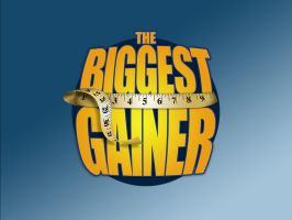 The Biggest Gainer Logo by graph-man