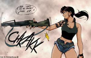 Black Lagoon - Revy by ChristianStrange3