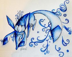 Glaceon by Freeglader