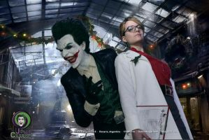 Joker and Harleen Quinzel Cosplay by AlexWorks