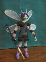 Pen Faery Standing by FoolsGrin