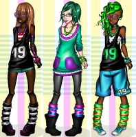 DressUp Kristina: ma dollies :) by Limperator