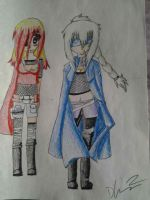 tiene and sunas new outfits by deidara310