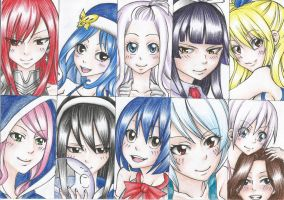 Favourite FT Girls by DevilishMirajane