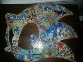 Sonic Team Logo Comic Collage by shadow7117