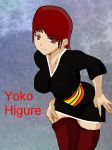 Yoko Higure Base art by Mischievous-Princess