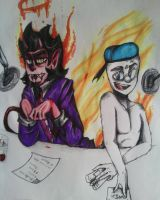 Studio Brohams   (colored) by DoodleFaceArtist