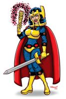 Big Barda by paigey