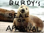 Burdy's Seal of Approval by RavensSpark