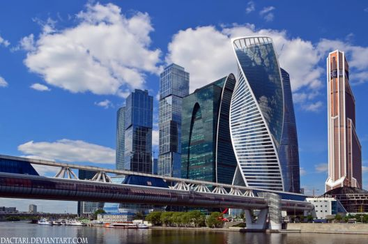 Moscow-city by Dactari