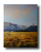 View to Wallace monument by Saulesleja
