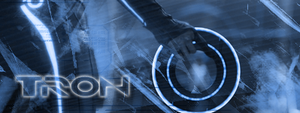 Tron banner by kigents