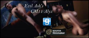 Evil Ash's CM11 Alyx For Gmod And SFM by Rastifan