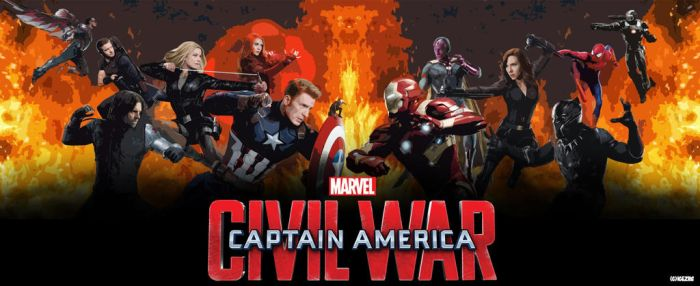 Captain America: Civil War by icequeen654123