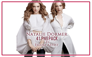 Natalie Dormer PNG by Figure Artist by Patatabollente