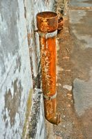 Rusty Pipe by Maylich