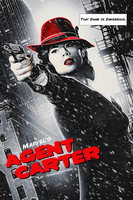 Agent Peggy Carter a la Sin City by vermilliontrees