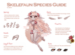 Skelefaun [Closed Species Guide] - WIP by Cyleana