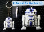 Star Wars R2 D2 Keychain by MrsSewing