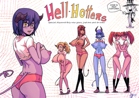 HELL-HOTTERS by MaBeelZ