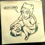 Finn and Jake by kraynel